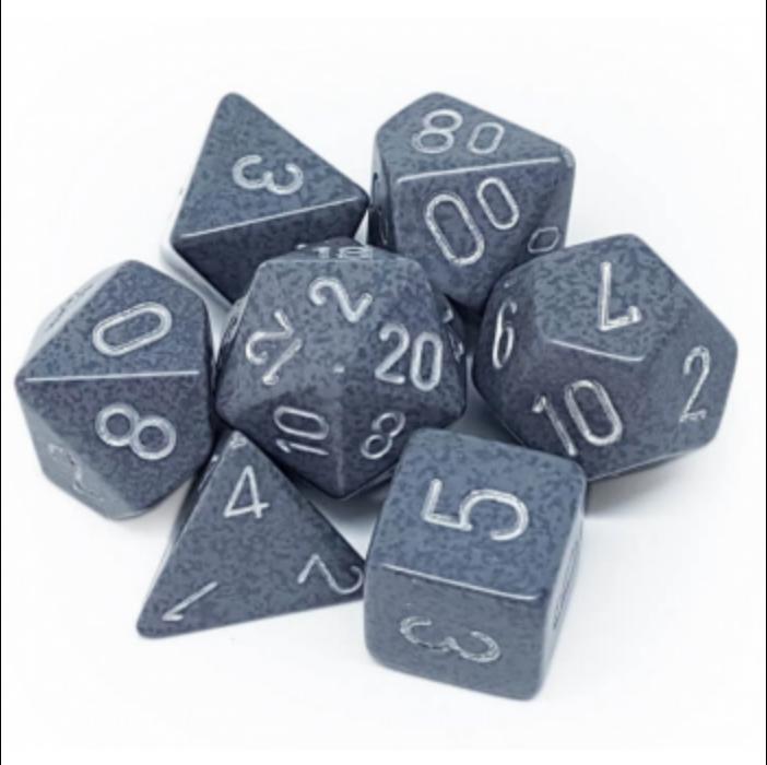 Chessex Speckled Polyhedral 7-Die Set - Hi- Tech