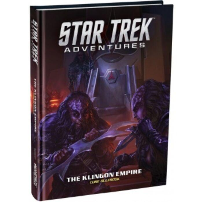 Star Trek Adventures - The Klingon Empire Core Rulebook Standard Edition - EN