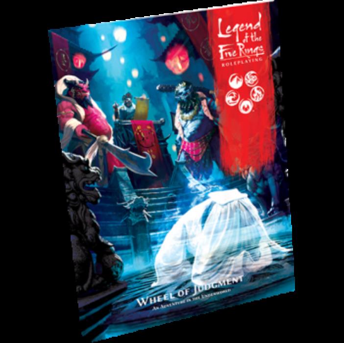 FFG - Legend of the Five Rings RPG - Wheel of Judgment - EN