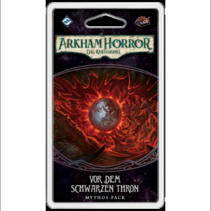 Arkham Horror: LCG - Vor dem schwarzen Thron Mythos-Pack - DE