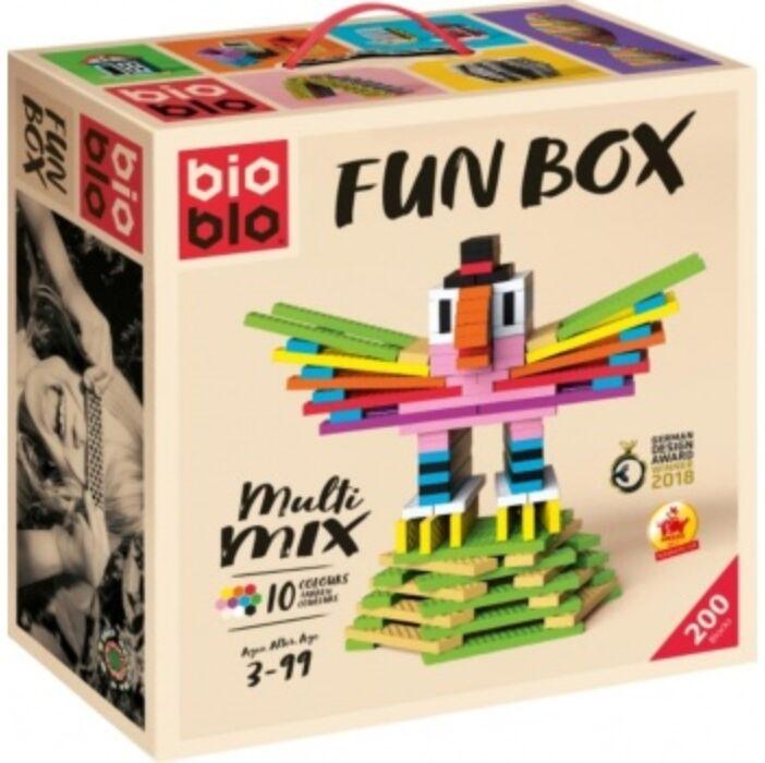 Bioblo - Funbox 200 Steine, 10 Farben