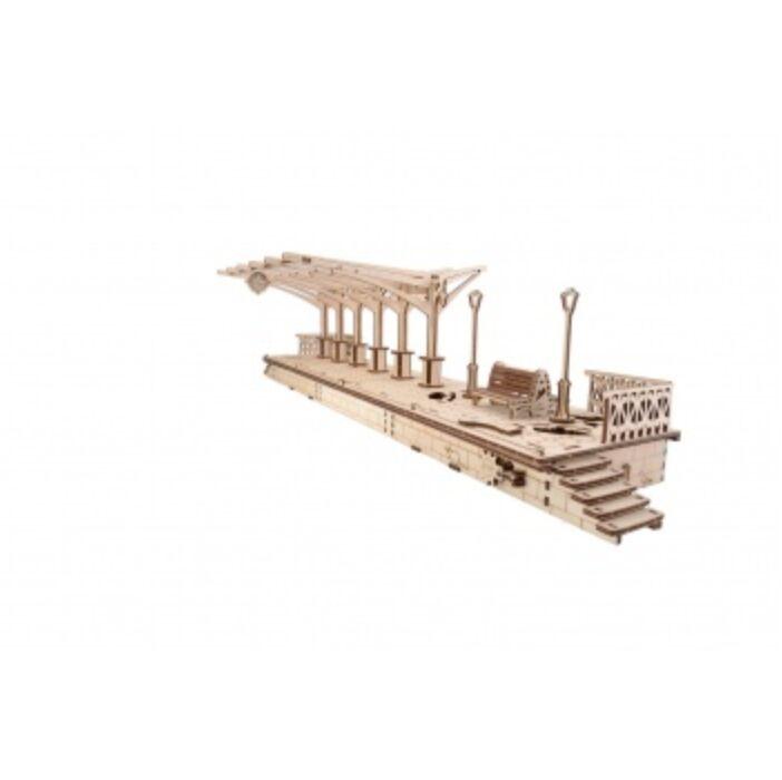 Ugears - Railway Platform