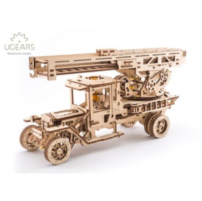 Ugears - Fire Ladder Truck