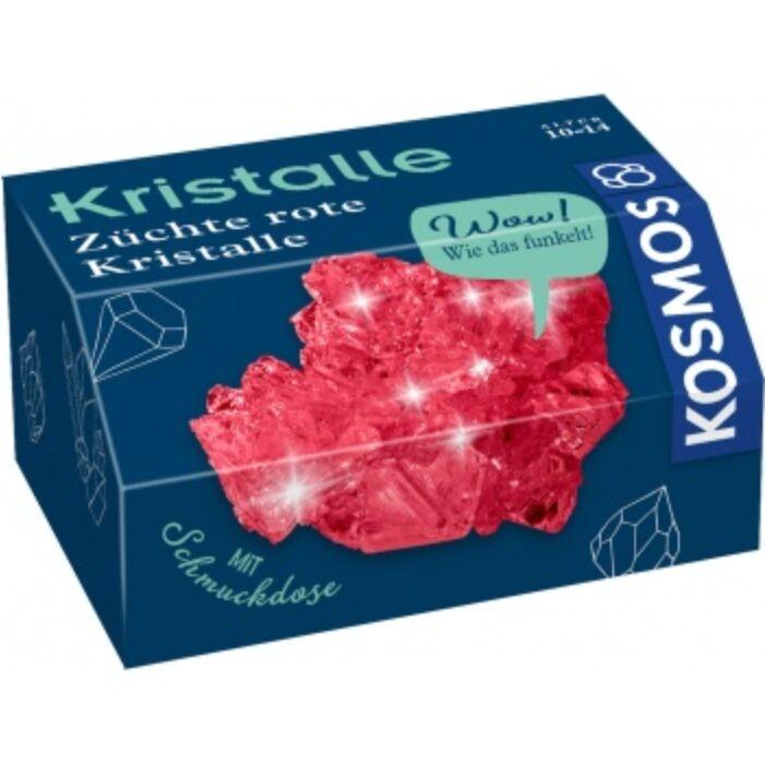 Rote Kristalle selbst züchten - DE