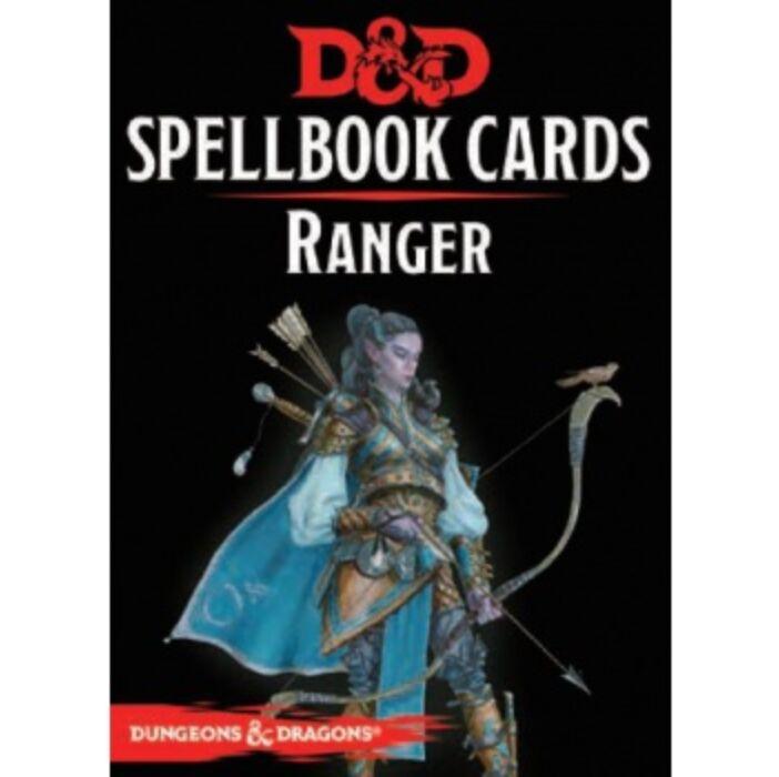D&D Spellbook Cards - Ranger (46 Cards) - EN