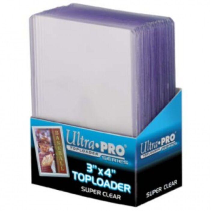 "UP - Toploader - 3 x 4"" Super Clear Premium (25 pieces)"""